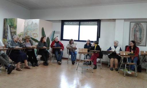 réunion de l'association Enfant Jésus, famille spirituelle des soeurs de l'Enfant Jésus du puy en velay